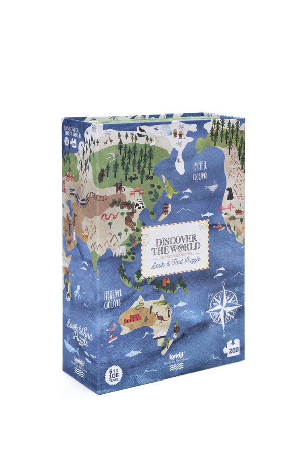 Londji Puzzle Discover the World (200 Teile)