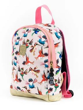 Pick&Pack Birds Backpack XS Soft Pink